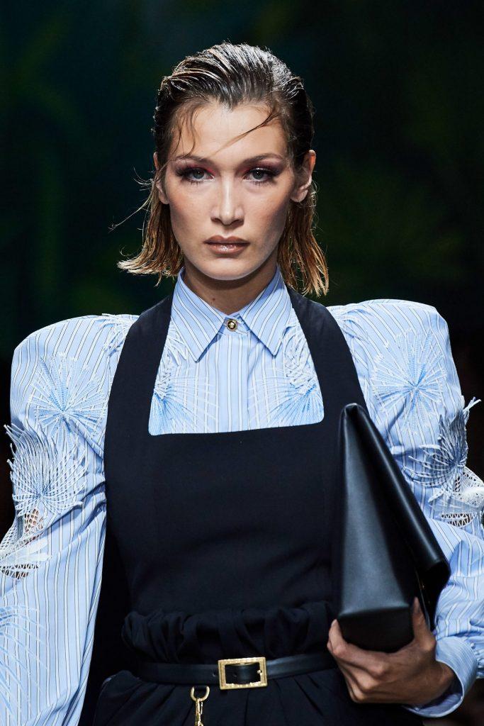 Белла Хадид, Versace