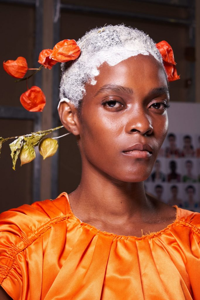 макияж с показа Marni