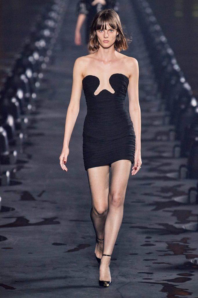 Saint Laurent, неделя моды в париже