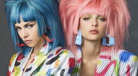 Неон, графические рисунки и игра цвета: лучшие образы с показов Недели моды в Нью-Йорке