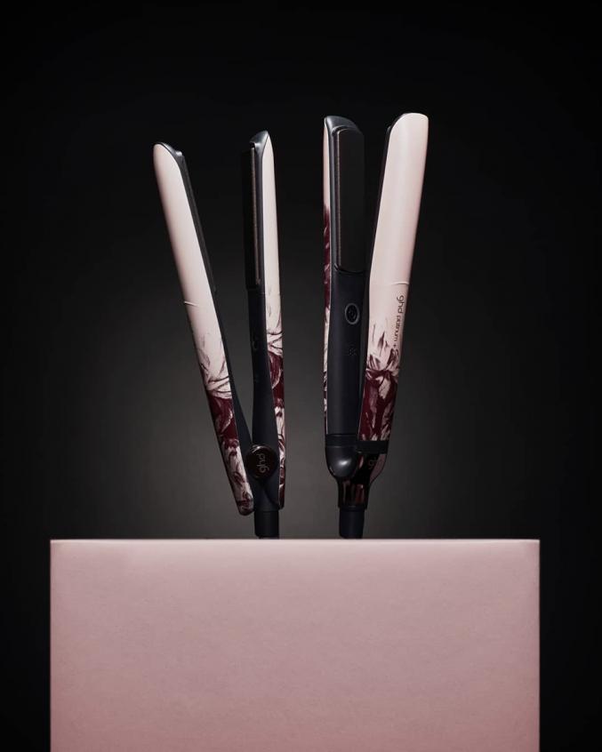 GHD Hair представил лимитированную коллекцию Ink on pink