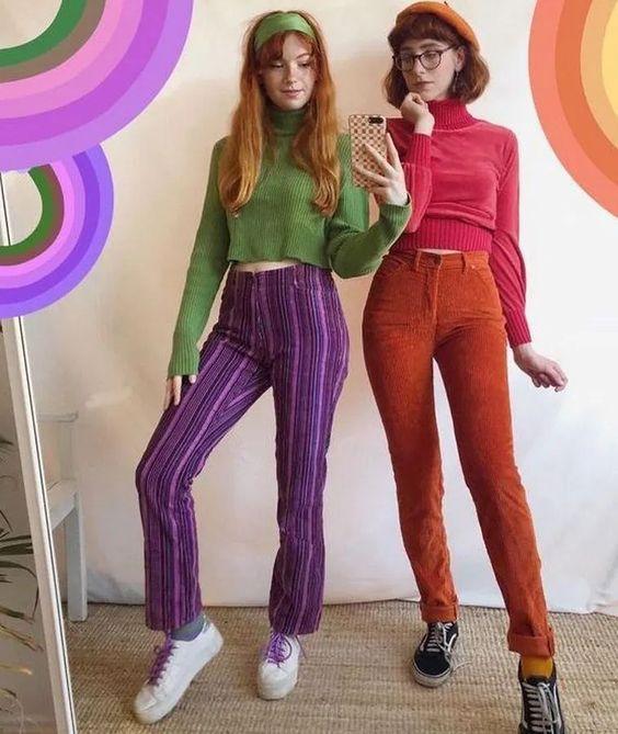 Хэллоуин, костюмы в стиле 80-х