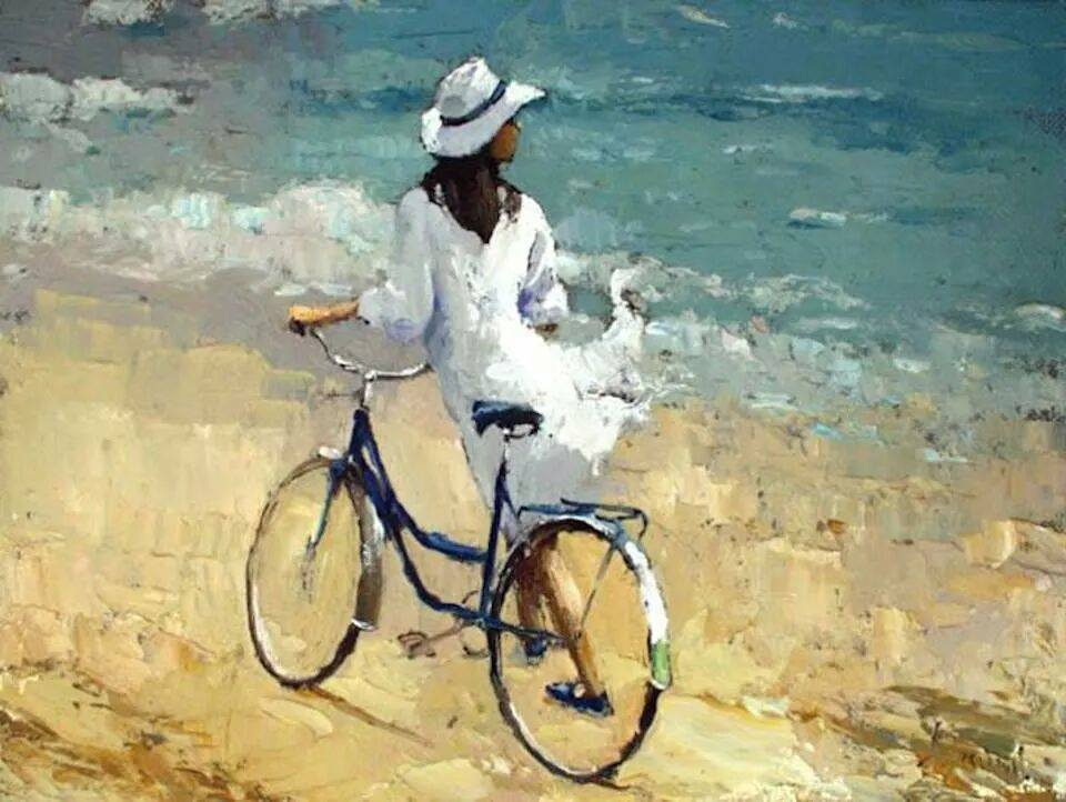 велосипед, тренировка без спортзала