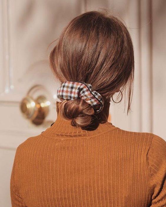резинка, окрашивание волос