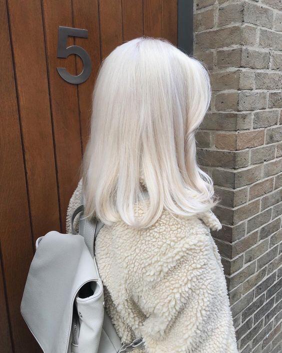 блонд, окрашивание