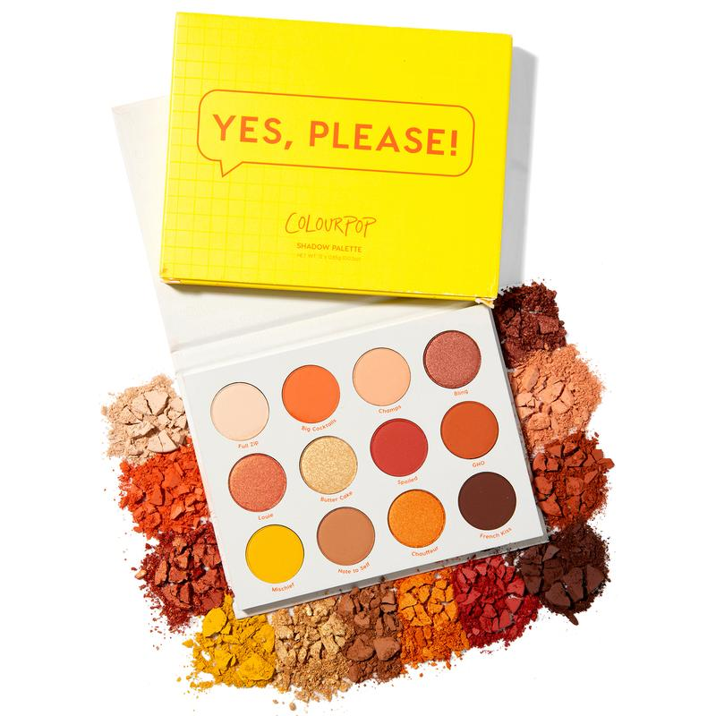 Палетка Yes, Please от ColourPop