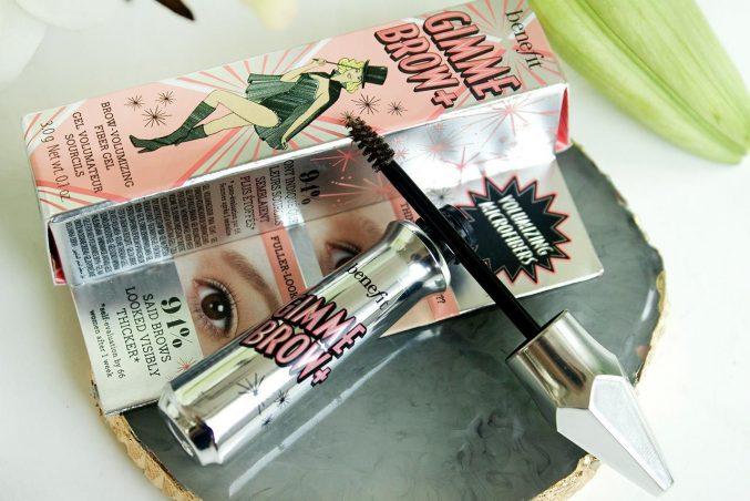 Гель для бровей Benefit Gimme Brow+ Volumizing Eyebrow Gel — отзыв