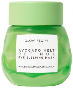 Ночная маска для век Glow Recipe Avocado Melt Retinol Eye Sleeping Mask