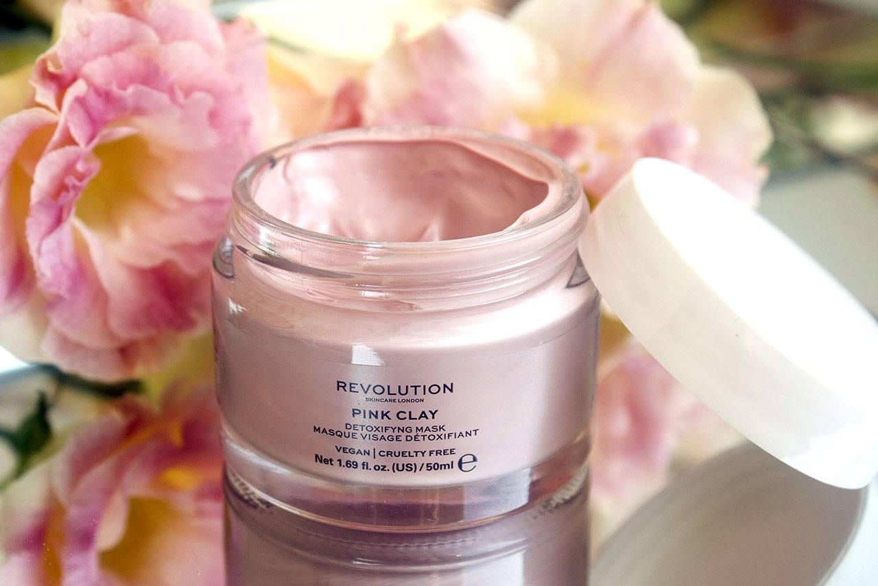 отзыв о маске для лица Revolution Beauty Pink Clay Detoxifying Face Mask