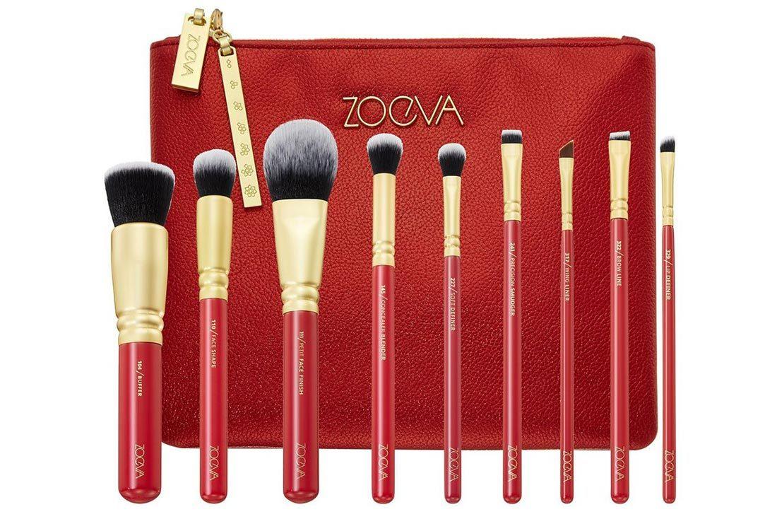 ZOEVA Lucky Luxe Brush Set