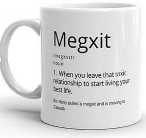 кружка #Megxit на eBay