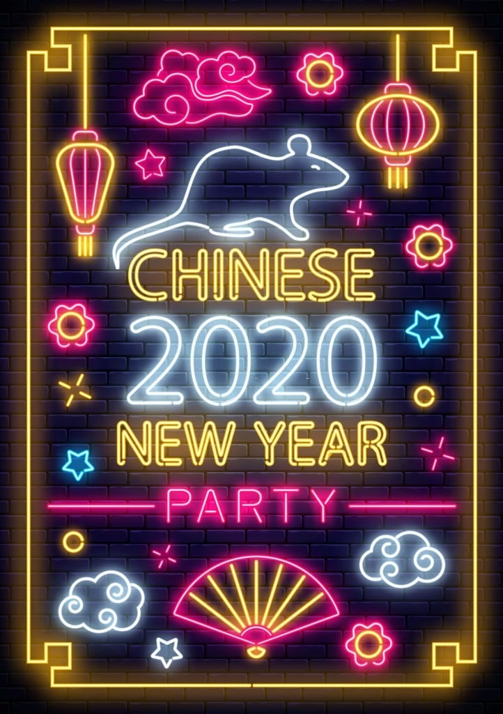 Китайский Новый год 2020 по дням