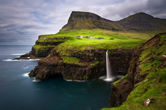 Гасадалур, Фарерские острова, Дания