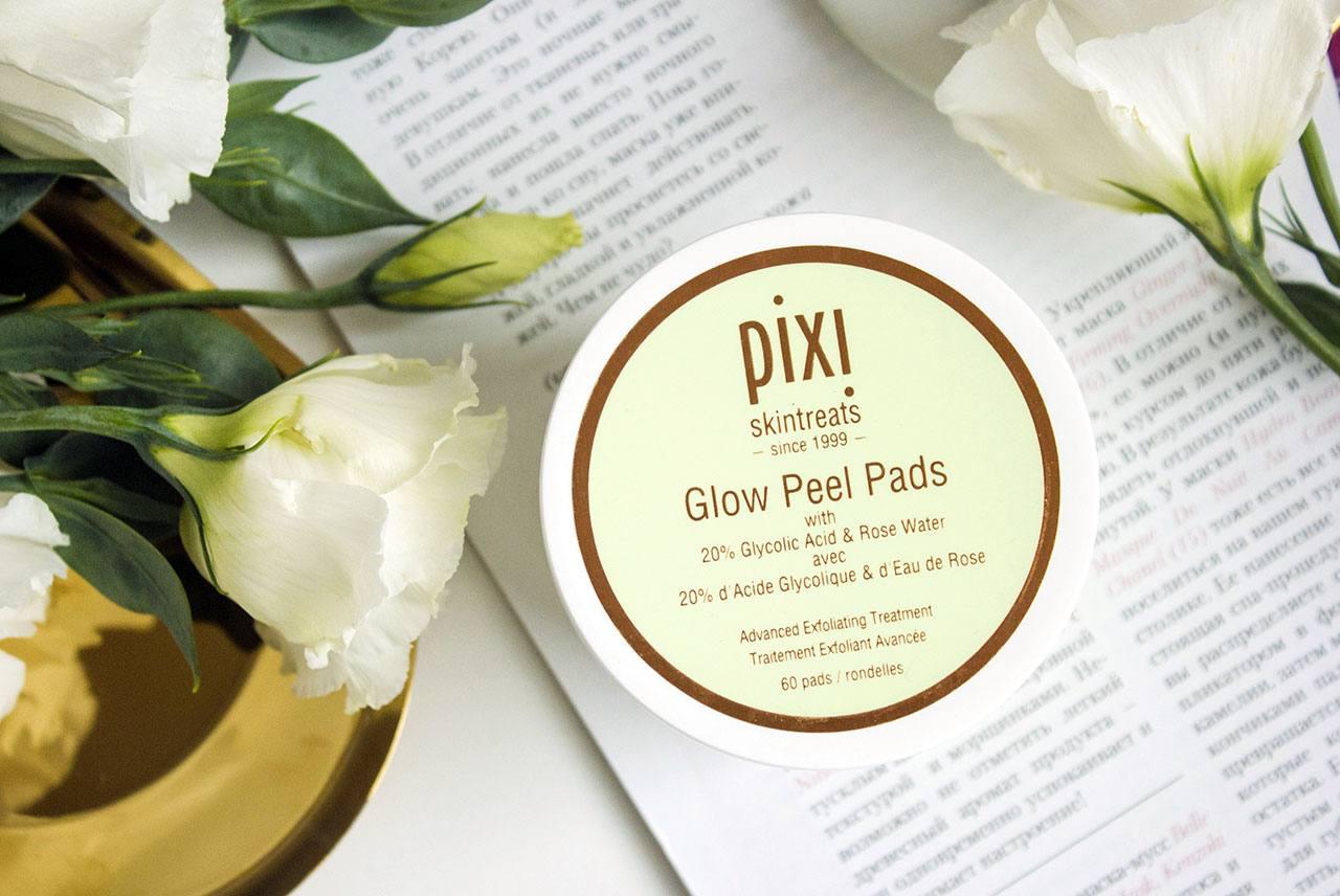 отшелушивающие диски Pixi Glow Peel Pads