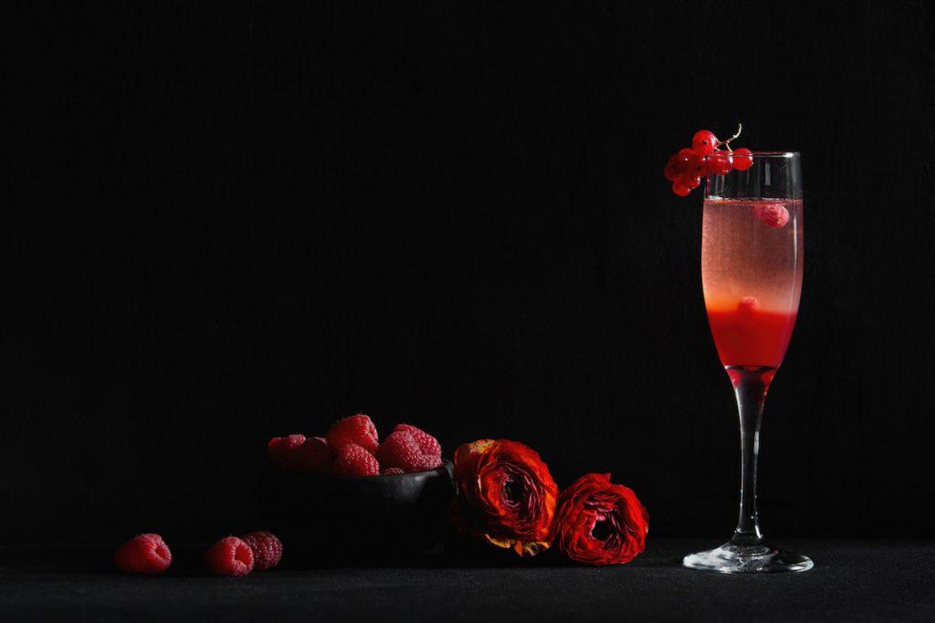 Коктейль, День Валентина, изысканные блюда
