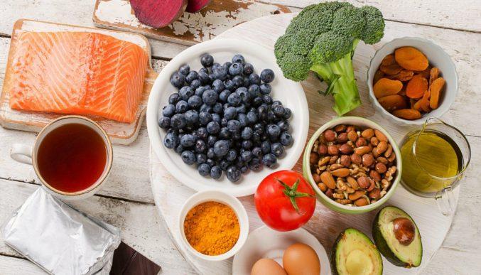 Продукты для энергии и хорошего здоровья