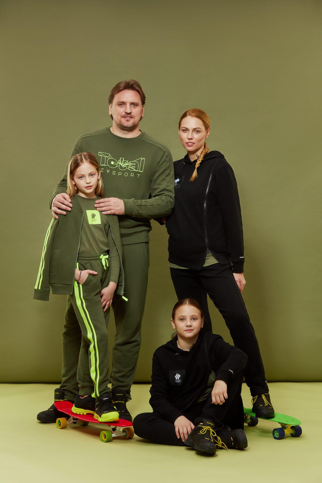 Zasport, Дмитрий Булыкин и Екатерина Полянская, семья