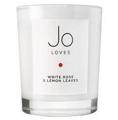 Jo Loves White Rose & Lemon Leaves Candle