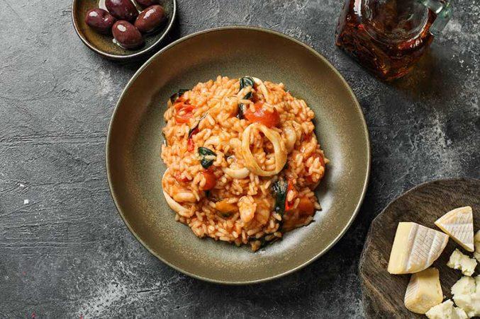 Вторник по-итальянски: готовим ризотто в соусе из томатов