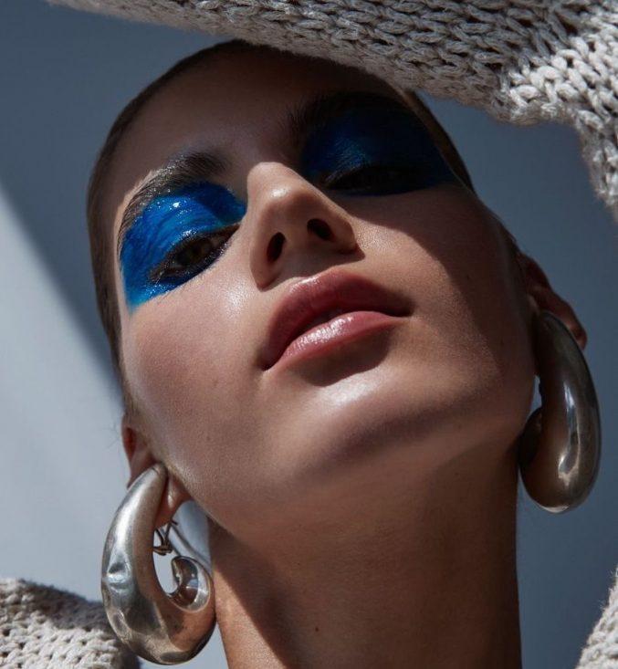 Макияж Dior: голубой снова в моде