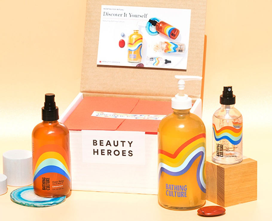 Beauty Heroes May 2020 Discovery Box by Bathing Culture