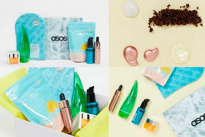 ASOS Summer Glow Box — наполнение