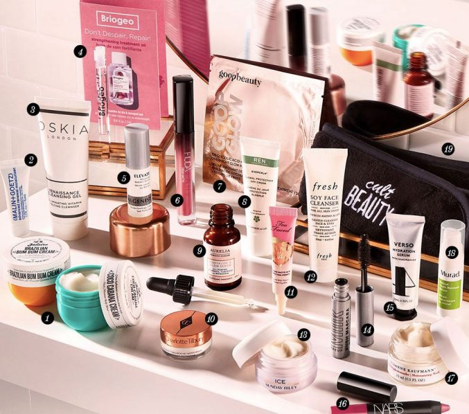 Cult Beauty Goody Bag Summer 2020 — наполнение