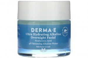 Ночная маска для лица Derma E Ultra Hydrating Alkaline Overnight Facial