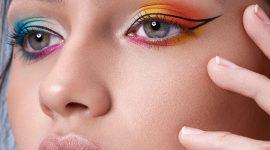 Радужный макияж от бьюти-эксперта