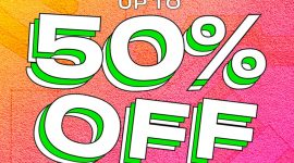 Летняя распродажа на сайте Beauty Bay — скидки до 50%