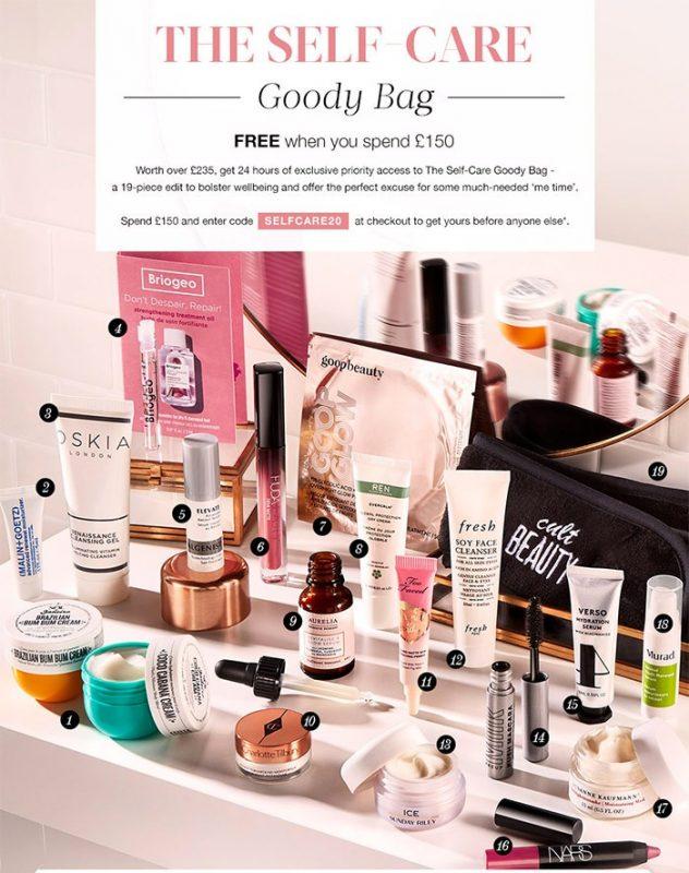 Cult Beauty Goody Bag Summer 2020