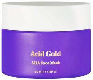 Маска для лица Bybi Beauty Acid Gold AHA Face Mask