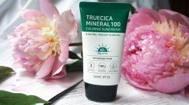 Корейский санскрин Some By Mi Truecica Mineral 100 Calming Suncream SPF50 PA++++