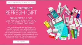 Space NK The Summer Refresh Goody Bag 2020