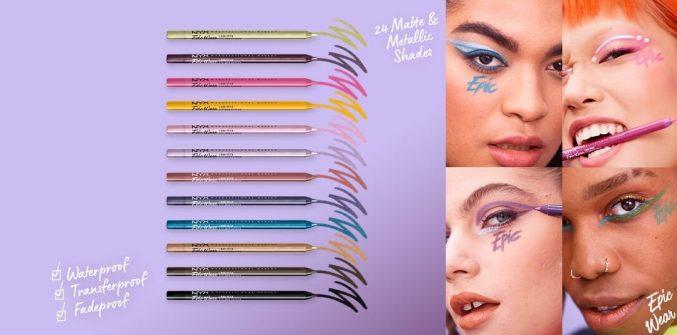 Новые карандаши для глаз от NYX