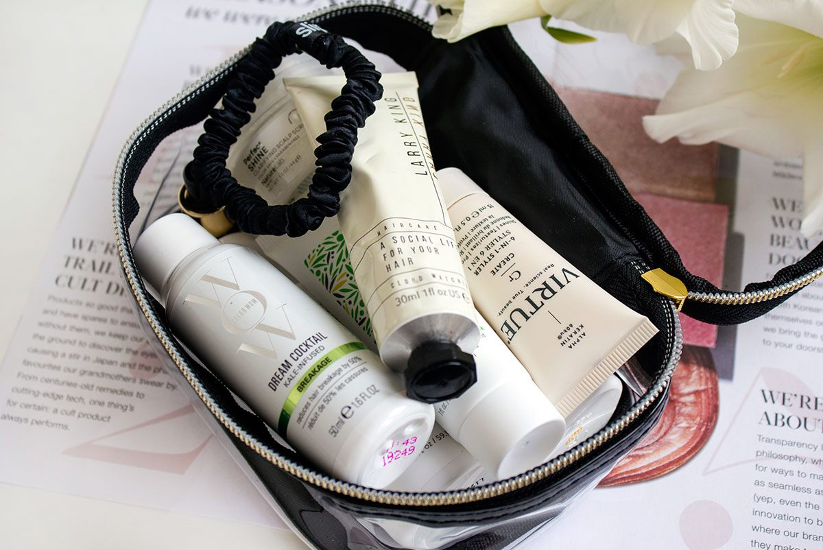 Cult Beauty Small Travel Make Up Bag