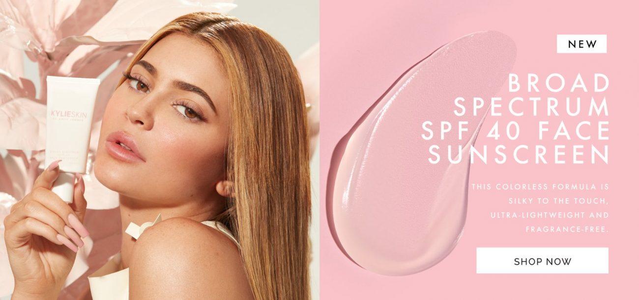 Солнцезащитный крем Kylie Skin