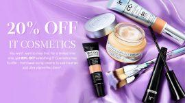 Скидка 20% на Glow Recipe и IT Cosmetics на Cult Beauty