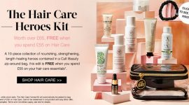Гуди бэг Cult Beauty Hair Care Heroes Kit — наполнение и как получить
