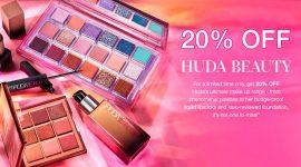 Скидка 20% на Huda Beauty и Wishful на Cult Beauty