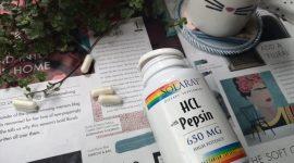 Бетаин и пепсин при низкой кислотности – Solaray HCL with Pepsin
