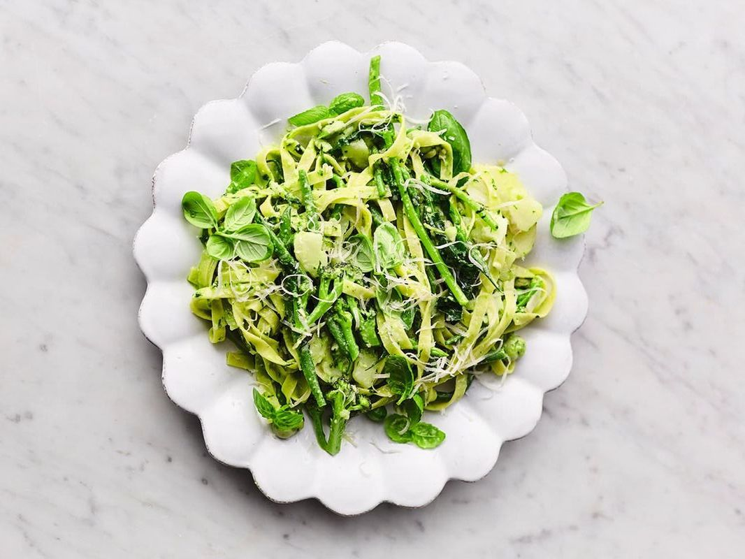 Вегетарианская паста