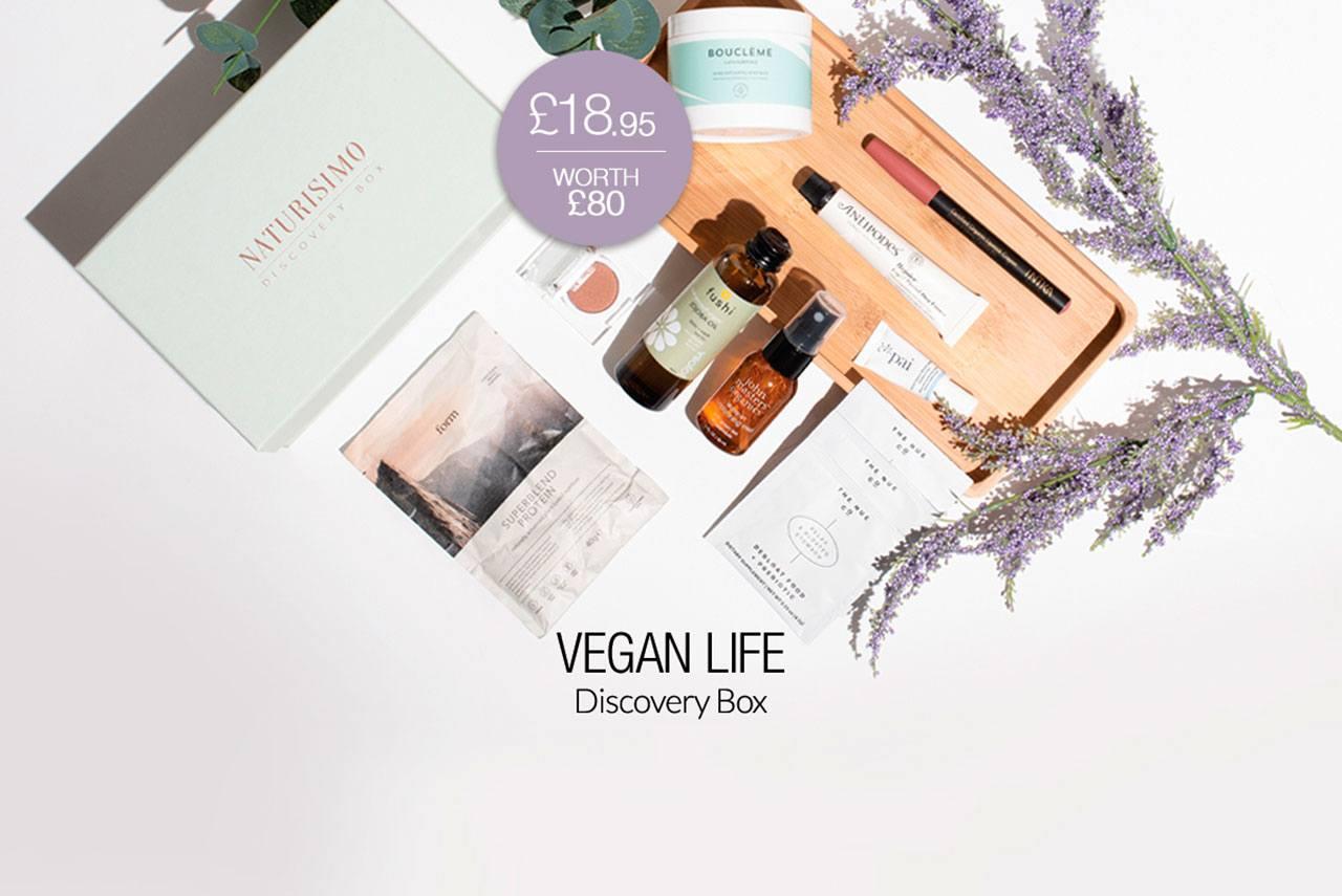 Naturisimo Vegan Life Discovery Box - август 2020