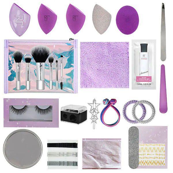 Real Techniques 25 Days Of Beauty Advent Calendar 2020 наполнение