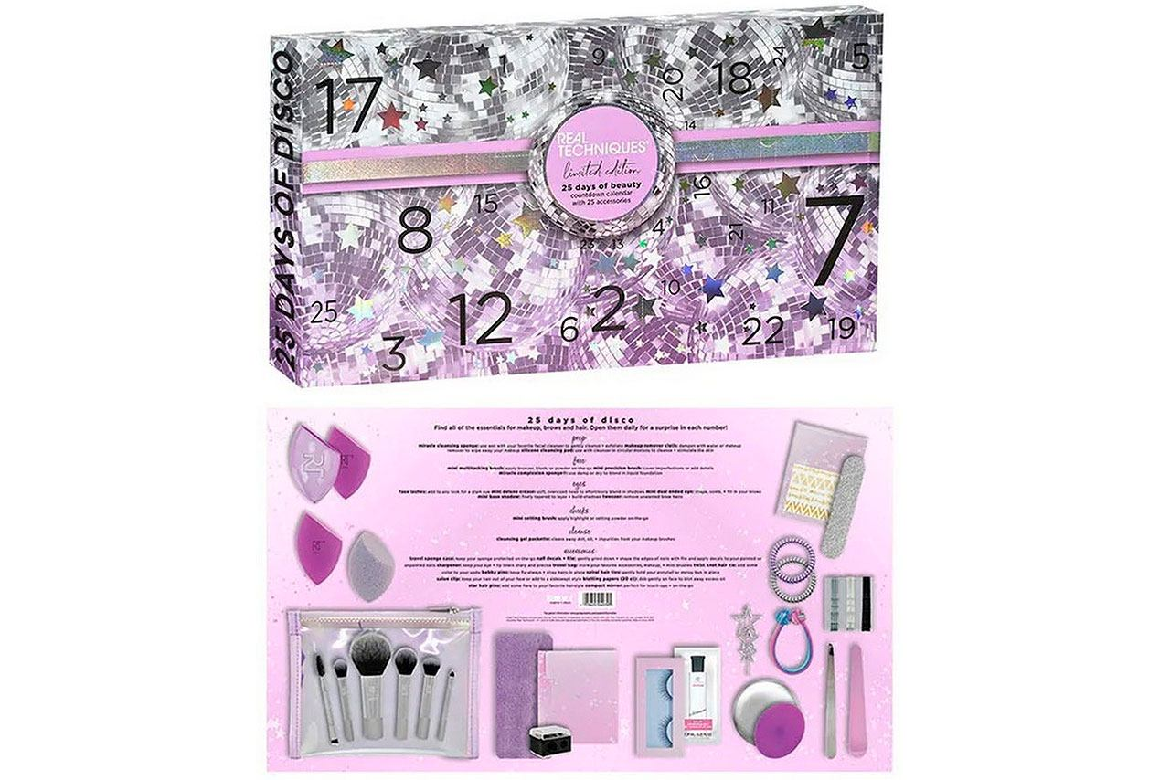 Real Techniques 25 Days Of Beauty Advent Calendar 2020