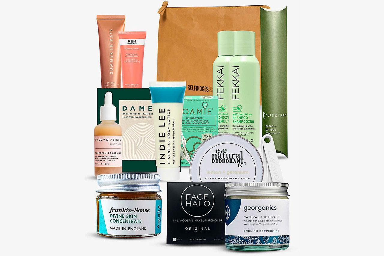 Selfridges Project Earth Beauty Bag