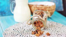 Домашняя гранола с медом, семечками и орехами — рецепт