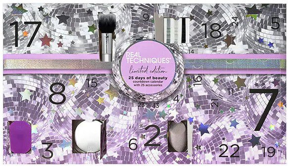 адвент-календарь Real Techniques 25 Days Of Beauty Advent Calendar 2020