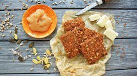 Морковные крекеры без глютена — рецепт