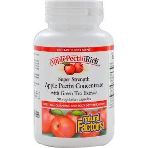 яблочный пектин в капсулах Apple Pectin Concentrate для улучшения работы ЖКТ и детокса